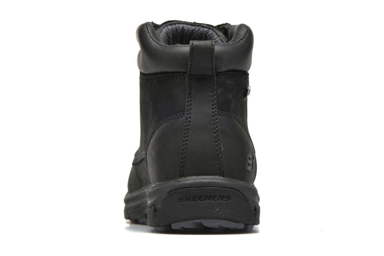 Bottines et boots Skechers Segment Amson 64593 Noir vue droite
