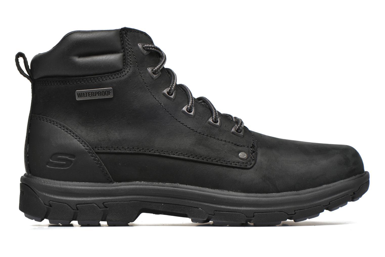 Bottines et boots Skechers Segment Amson 64593 Noir vue derrière