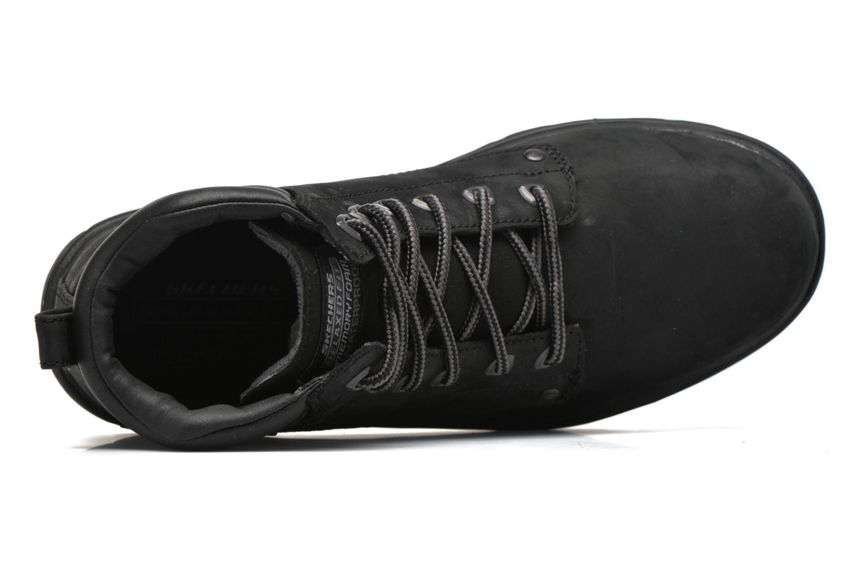 Bottines et boots Skechers Segment Amson 64593 Noir vue gauche