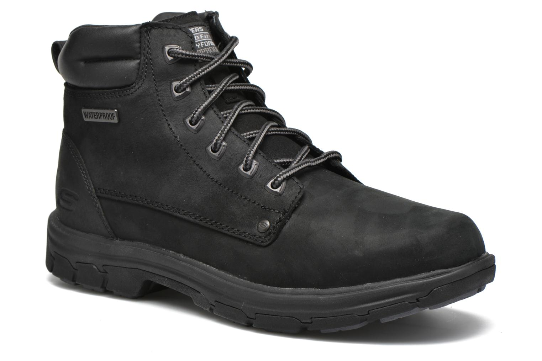 Bottines et boots Skechers Segment Amson 64593 Noir vue détail/paire