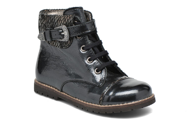 Boots en enkellaarsjes Little Mary Tresor Zwart detail