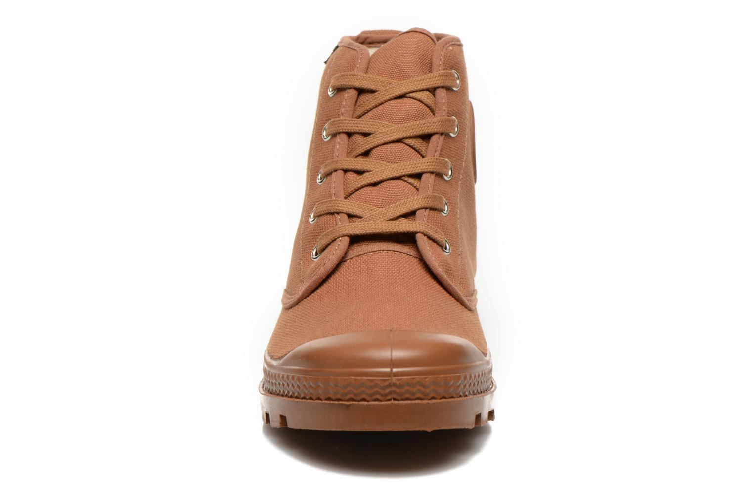 Ankle boots Aigle Arizona Brown model view