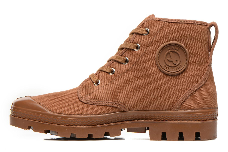 Bottines et boots Aigle Arizona Marron vue face