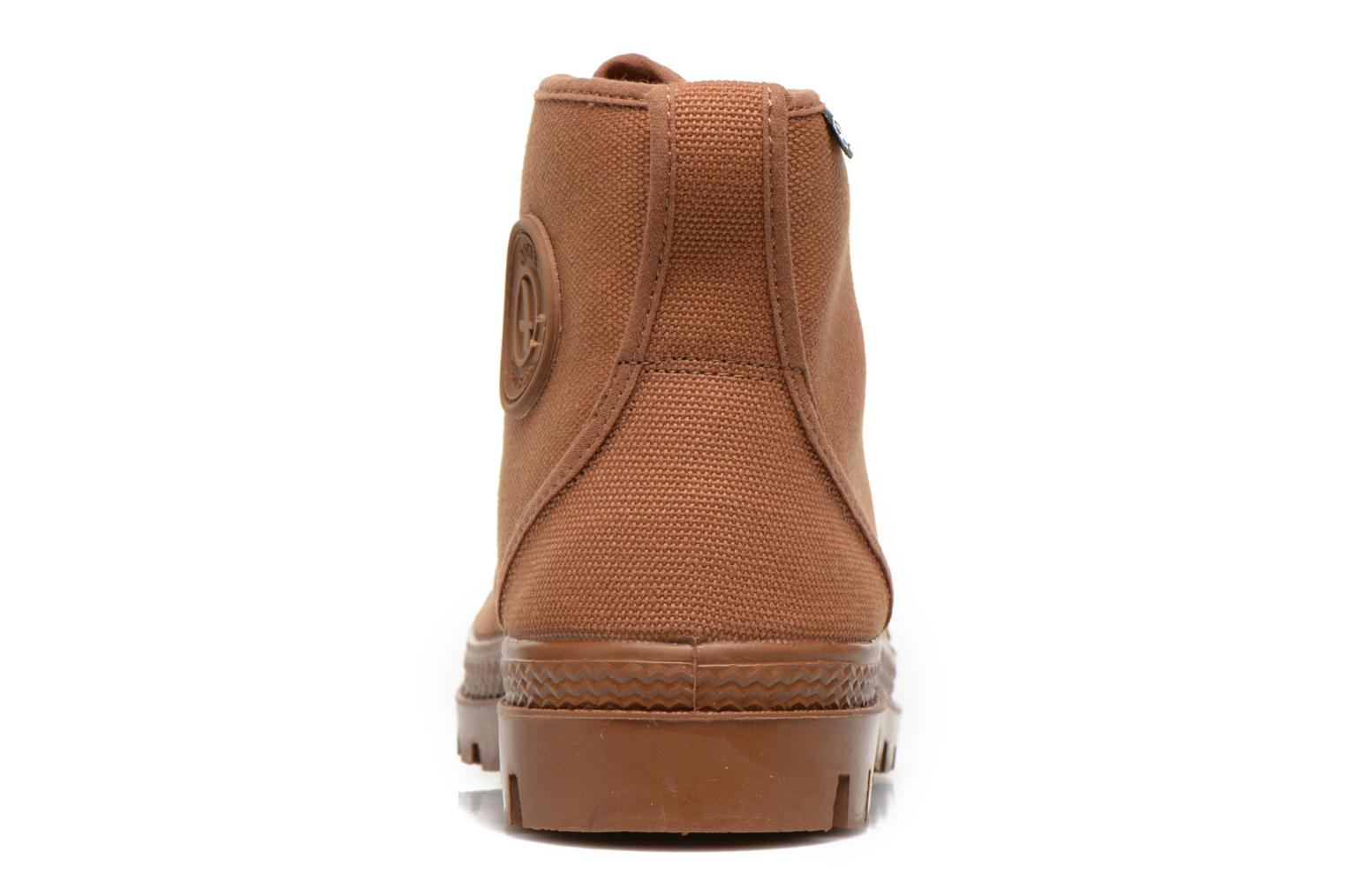Ankle boots Aigle Arizona Brown view from the right