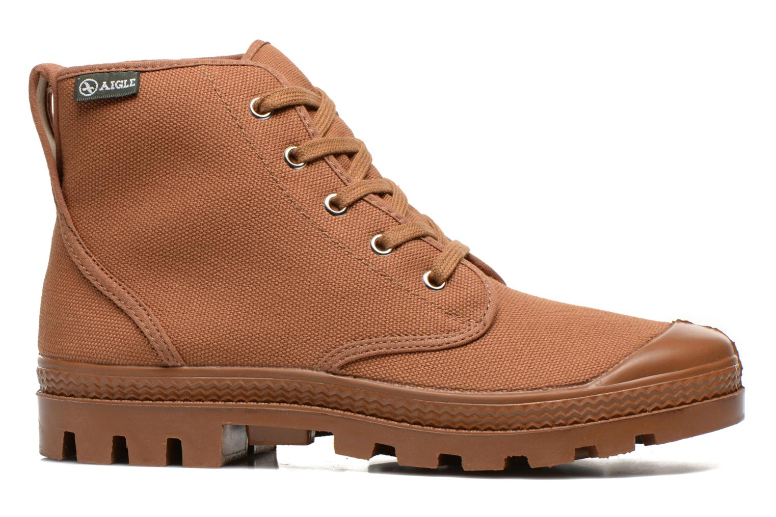 Ankle boots Aigle Arizona Brown back view