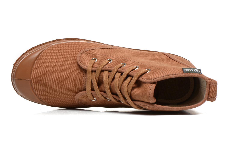 Bottines et boots Aigle Arizona Marron vue gauche
