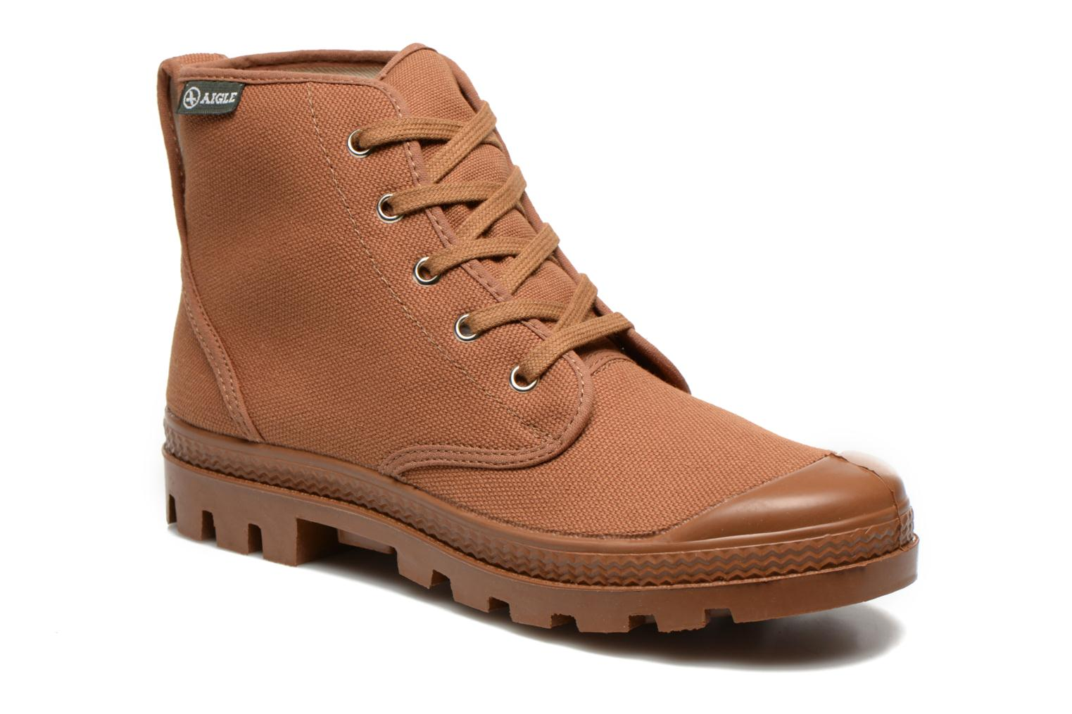 Ankle boots Aigle Arizona Brown detailed view/ Pair view