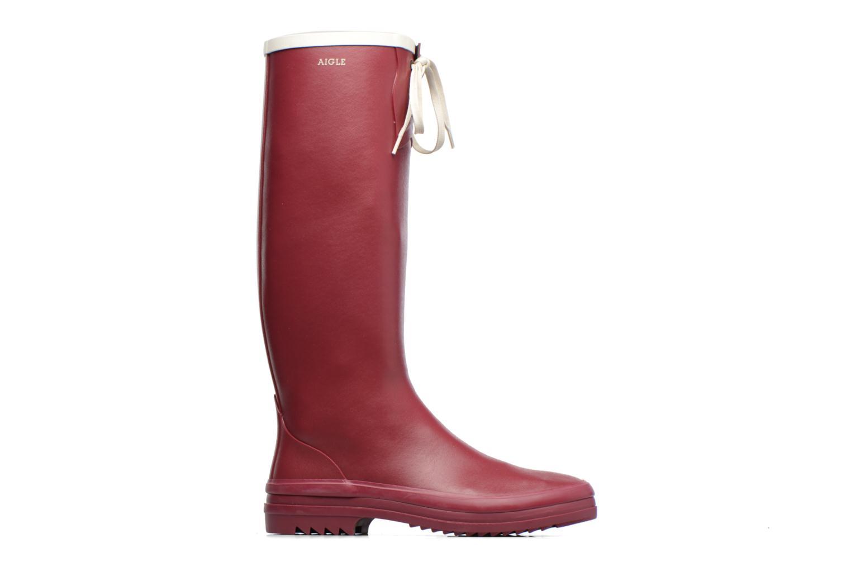 Støvler & gummistøvler Aigle Miss Marion Rød se bagfra
