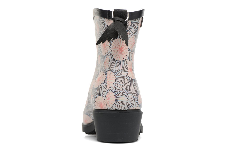 Bottines et boots Aigle Miss Juliette Bottillon Print Multicolore vue droite