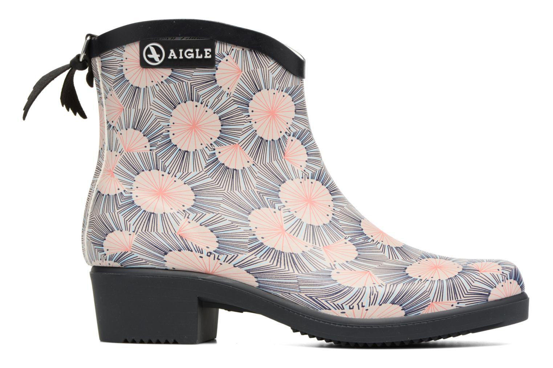 Bottines et boots Aigle Miss Juliette Bottillon Print Multicolore vue derrière