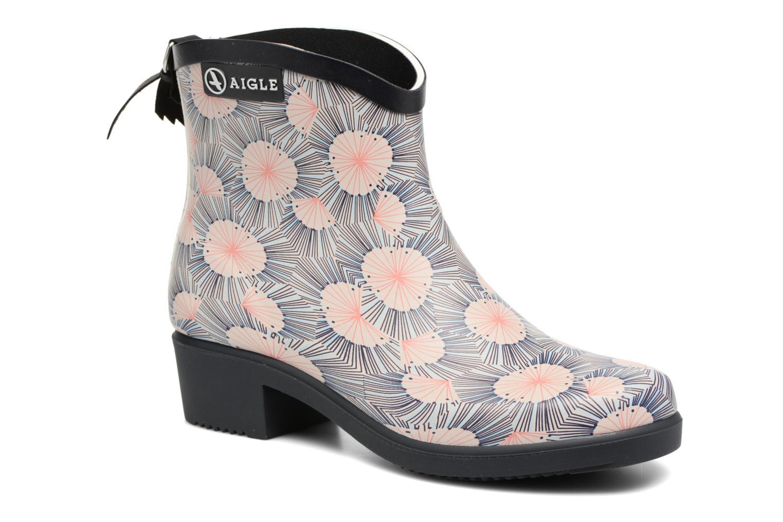 Ankelstøvler Aigle Miss Juliette Bottillon Print Multi detaljeret billede af skoene