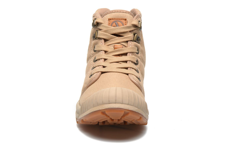 Baskets Aigle Tenere Light WP W Beige vue portées chaussures