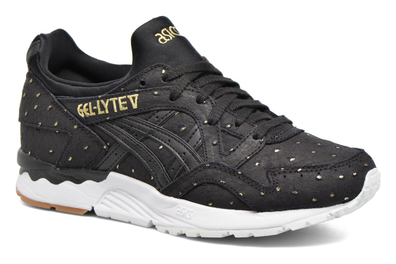 Sneakers Asics Gel-Lyte V W Zwart detail