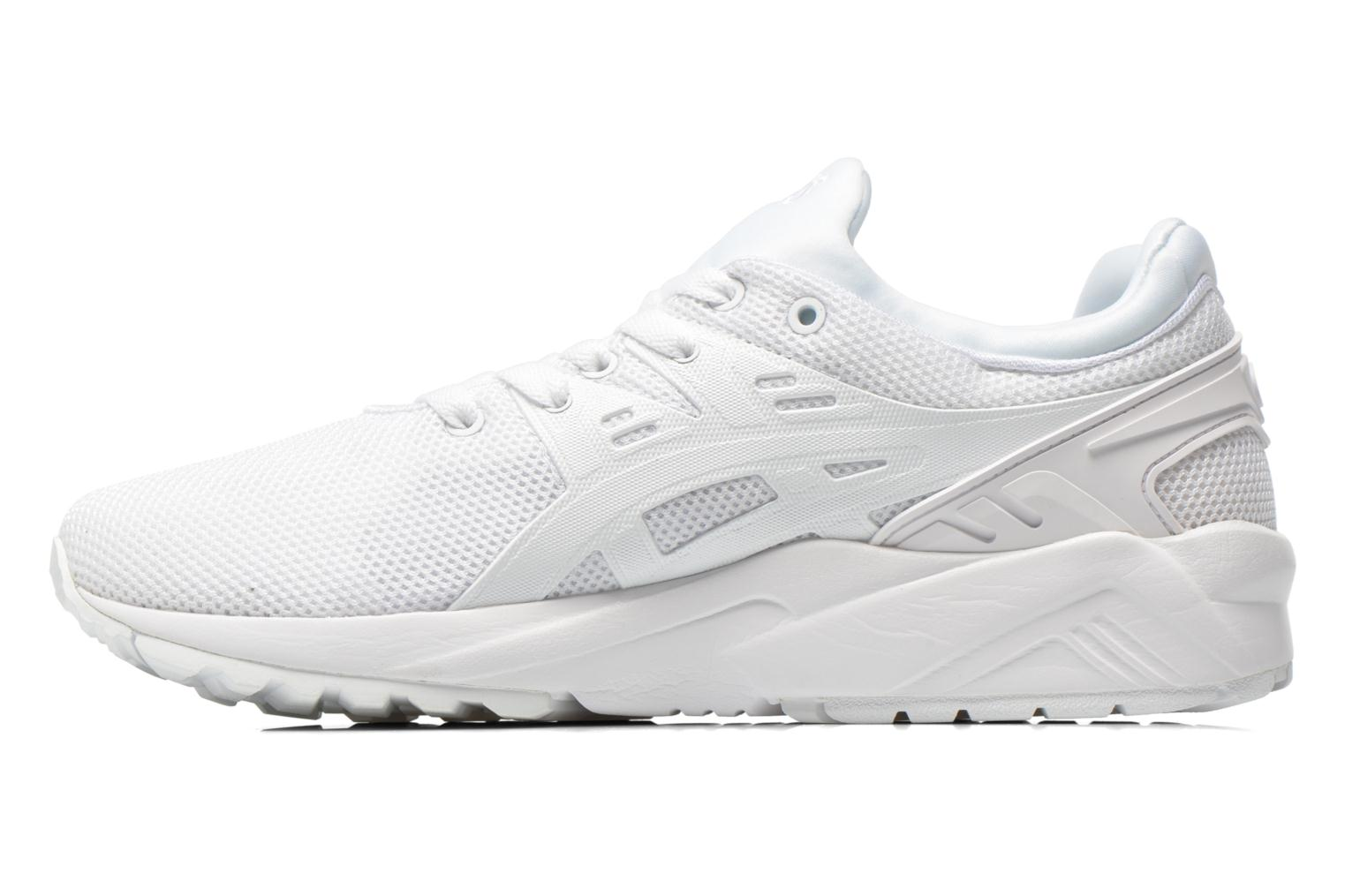 Trainers Asics Gel-Kayano Trainer Evo W White front view