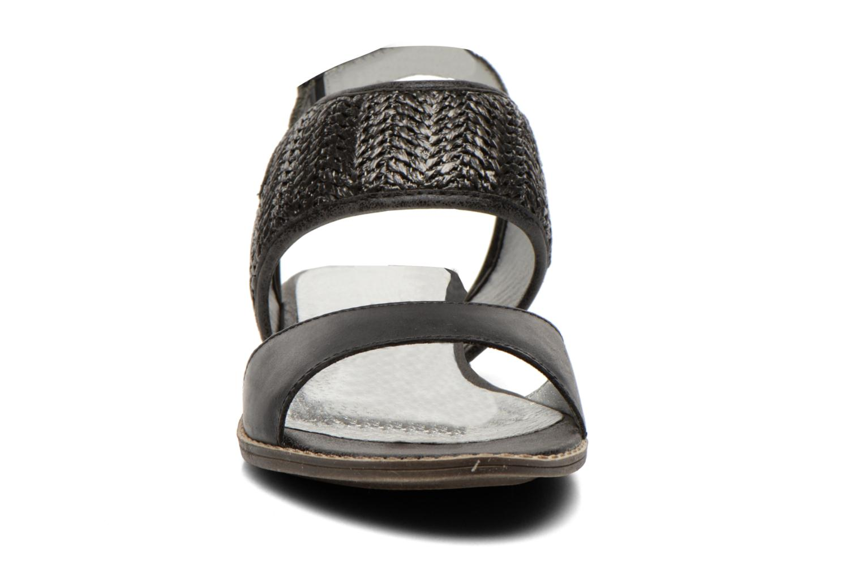 Sandals Madison Rubane Black model view
