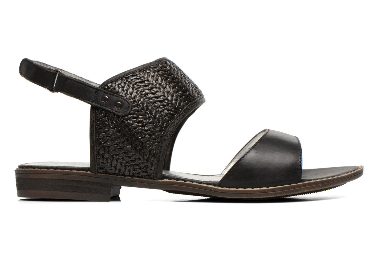 Sandales et nu-pieds Madison Rubane Noir vue derrière