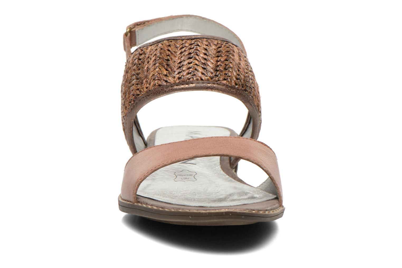 Sandales et nu-pieds Madison Rubane Marron vue portées chaussures