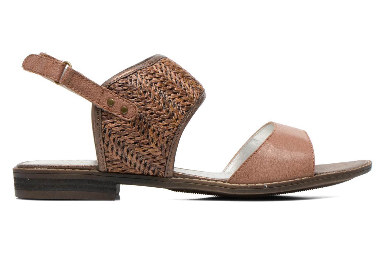 Sandales et nu-pieds Madison Rubane Marron vue derrière