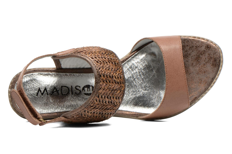 Sandales et nu-pieds Madison Rubane Marron vue gauche
