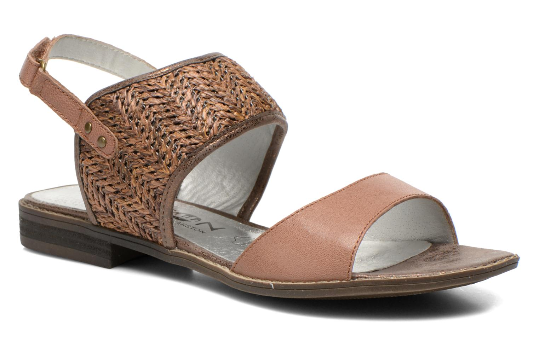 Sandales et nu-pieds Madison Rubane Marron vue détail/paire