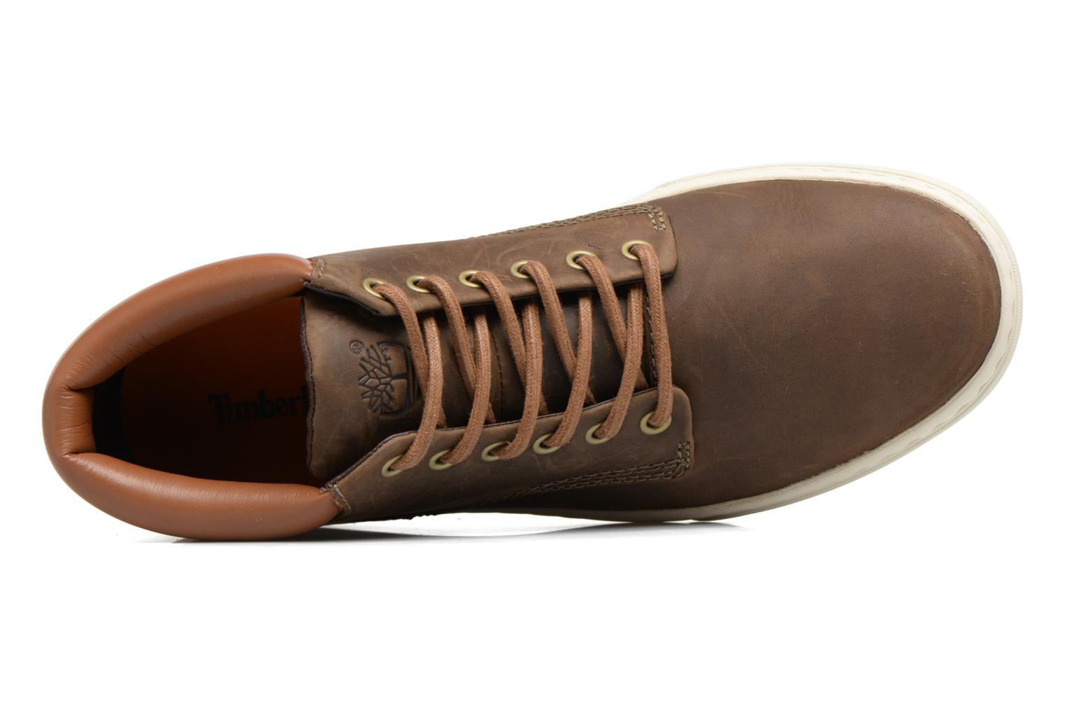 Trainers Timberland Adventure 2.0 Cupsole Chukka Brown view from the left