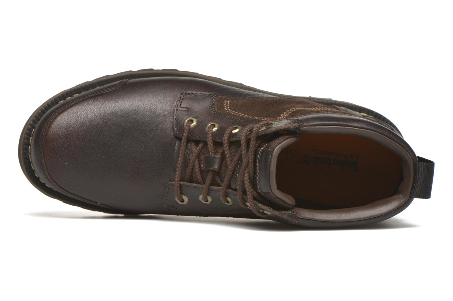 Larchmont Chukka Dark Brown FG and Suede
