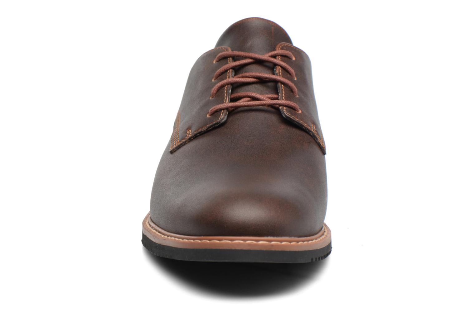 Lace-up shoes Timberland Brook Park Oxford Brown model view
