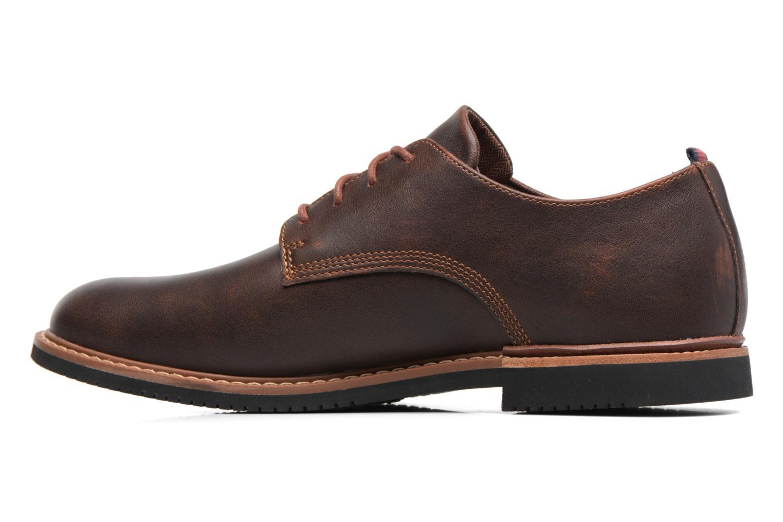 Chaussures à lacets Timberland Brook Park Oxford Marron vue face