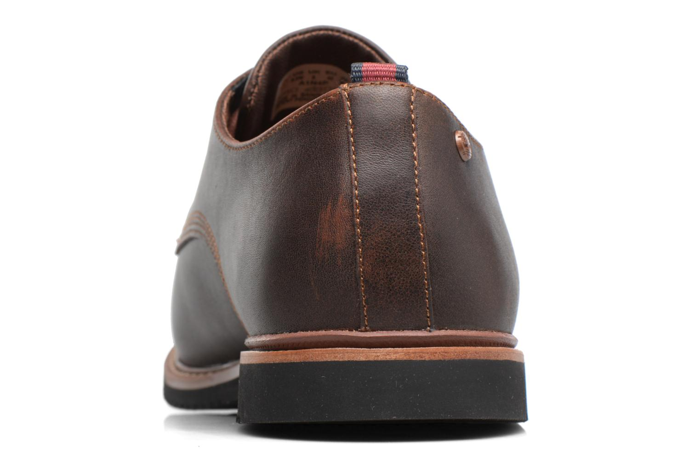 Chaussures à lacets Timberland Brook Park Oxford Marron vue droite
