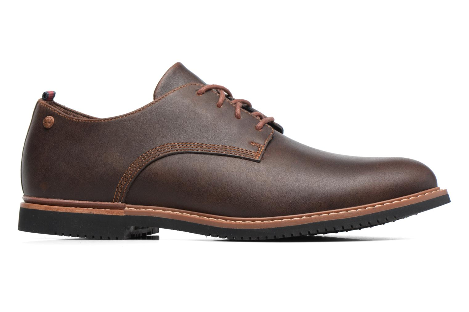 Lace-up shoes Timberland Brook Park Oxford Brown back view
