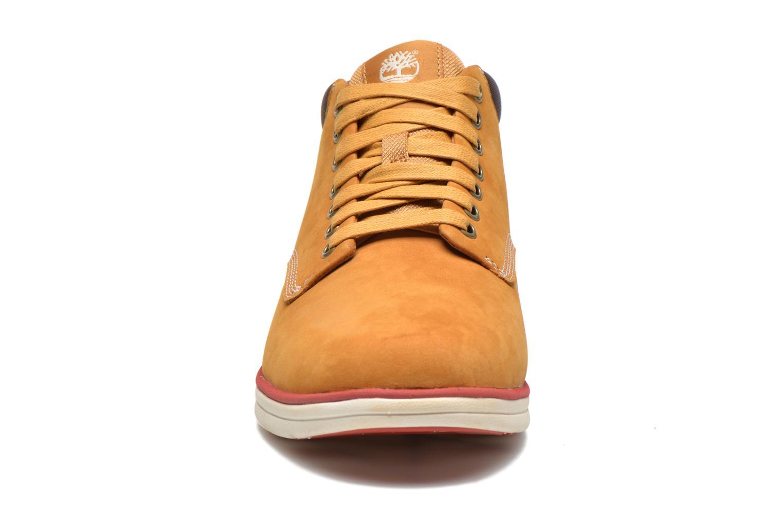 Sneaker Timberland Bradstreet Chukka Leather beige schuhe getragen