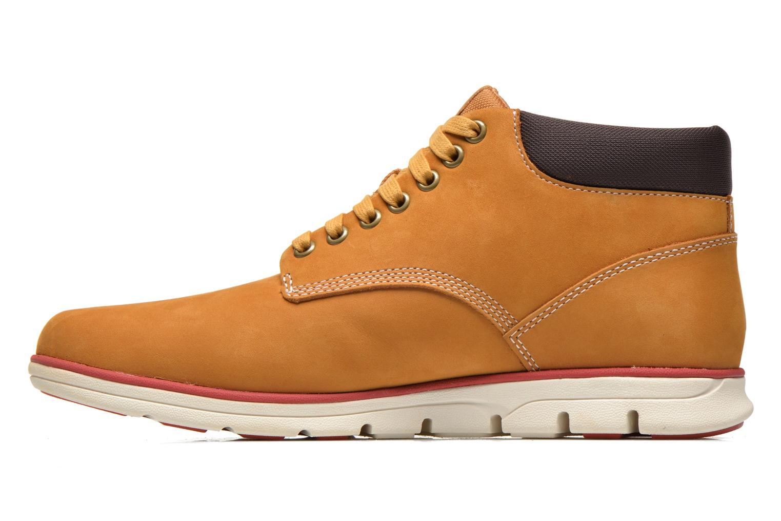 Trainers Timberland Bradstreet Chukka Leather Beige front view
