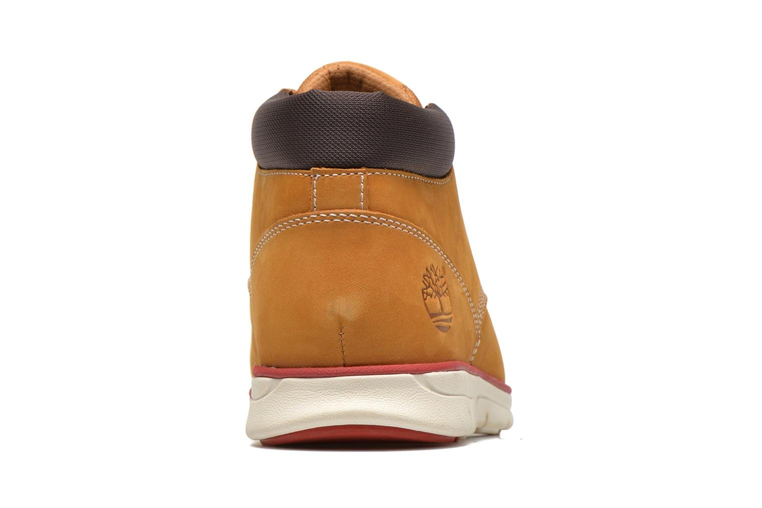 Trainers Timberland Bradstreet Chukka Leather Beige view from the right