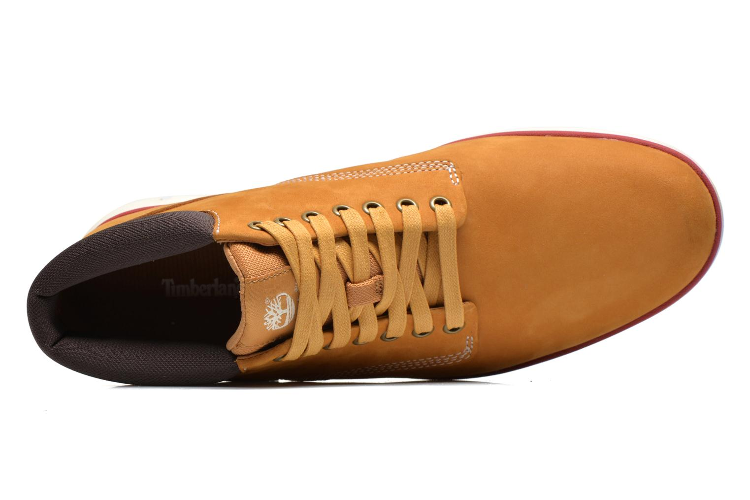Trainers Timberland Bradstreet Chukka Leather Beige view from the left