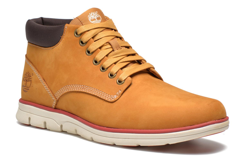 Sneakers Timberland Bradstreet Chukka Leather Beige detaljeret billede af skoene