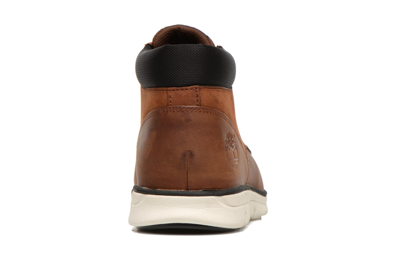Trainers Timberland Bradstreet Chukka Leather Brown view from the right