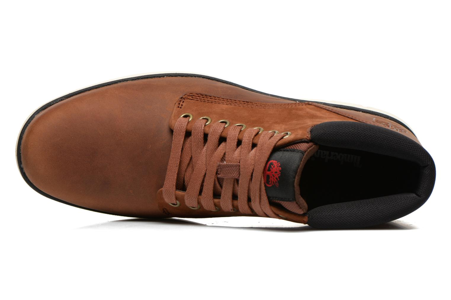 Trainers Timberland Bradstreet Chukka Leather Brown view from the left