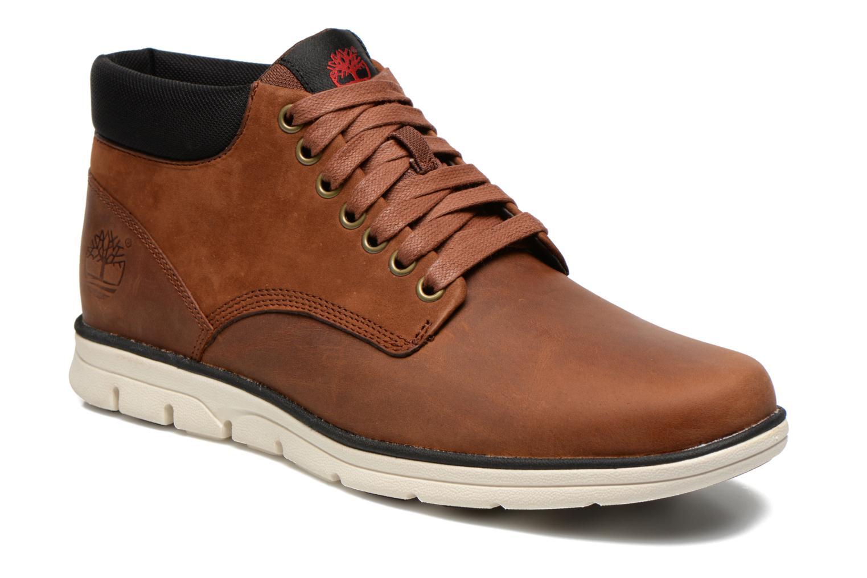 Bradstreet Chukka Leather Red Brown Full-Grain