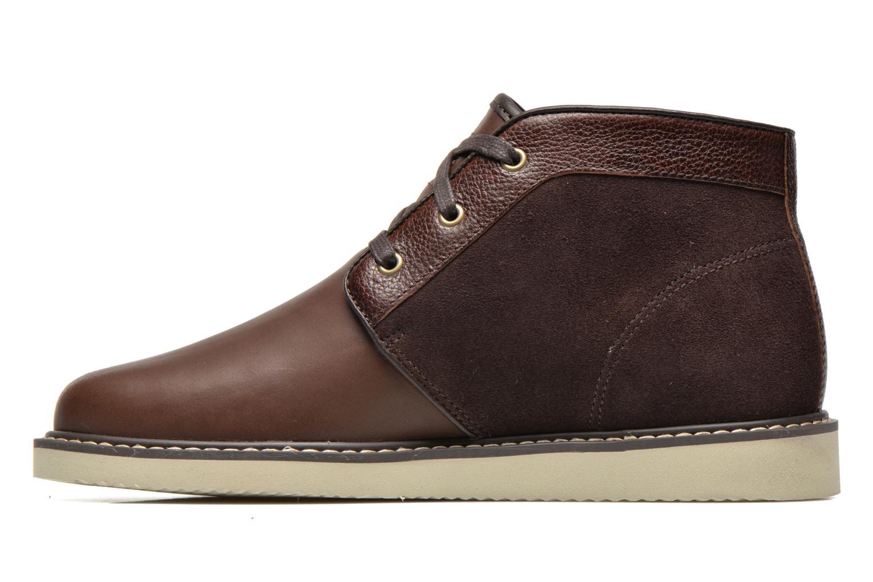 Chaussures à lacets Timberland Newmarket Chukka Marron vue face