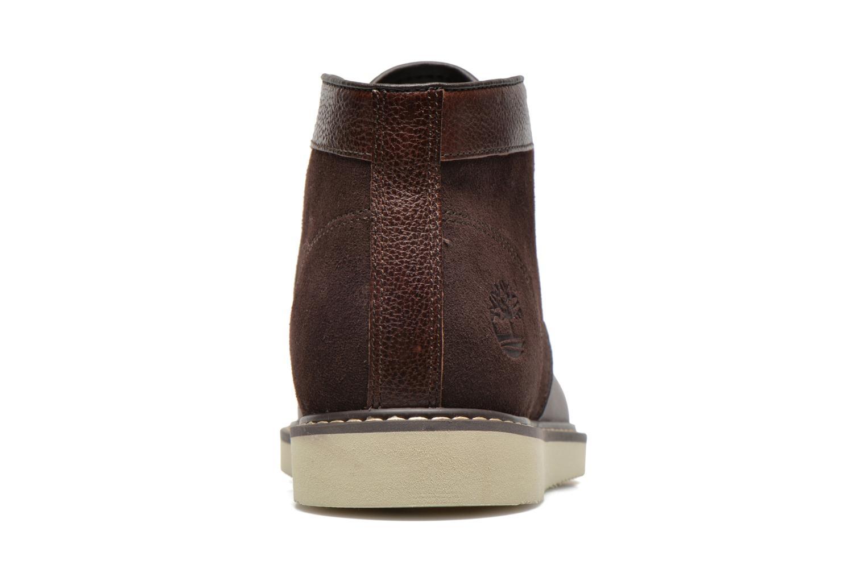 Chaussures à lacets Timberland Newmarket Chukka Marron vue droite
