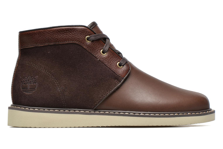 Chaussures à lacets Timberland Newmarket Chukka Marron vue derrière