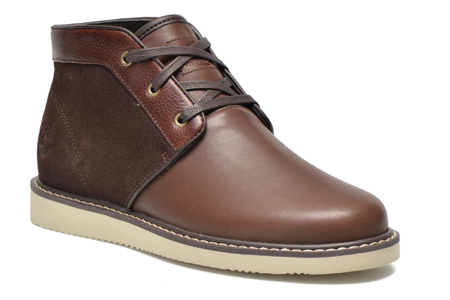 Lace-up shoes Timberland Newmarket Chukka Brown detailed view/ Pair view