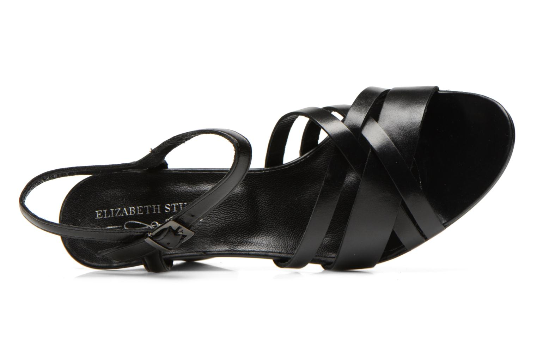 Sandalias Elizabeth Stuart Borel 304 Negro vista lateral izquierda
