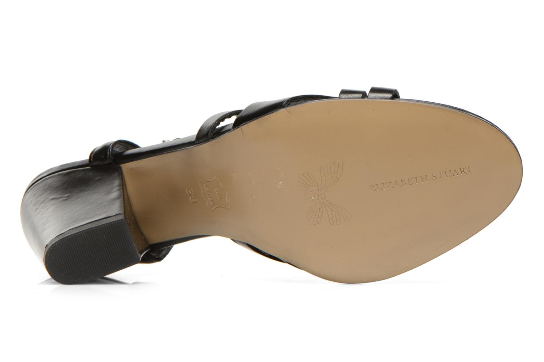 Sandales et nu-pieds Elizabeth Stuart Borel 304 Noir vue haut