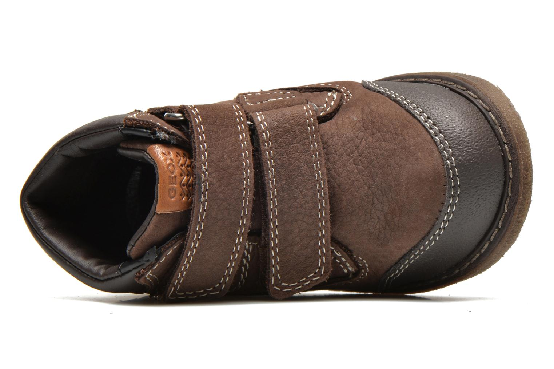 Bottines et boots Geox B GLIMMER B B44P8A Marron vue gauche