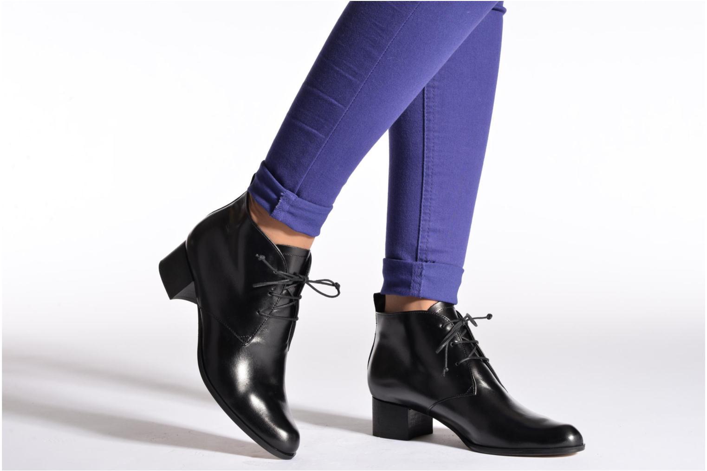 Chaussures à lacets Elizabeth Stuart Ibis 304 Noir vue bas / vue portée sac