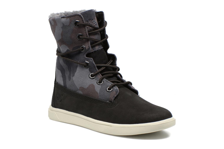 Bottines et boots Timberland GIRLS DEERING FOLD D Noir vue 3/4