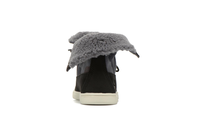 Bottines et boots Timberland GIRLS DEERING FOLD D Noir vue droite