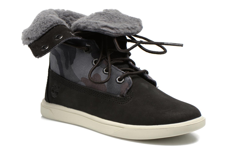 Bottines et boots Timberland GIRLS DEERING FOLD D Noir vue détail/paire