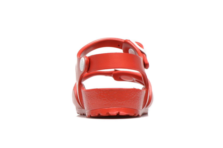 Sandali e scarpe aperte Birkenstock Rio EVA Rosso immagine destra